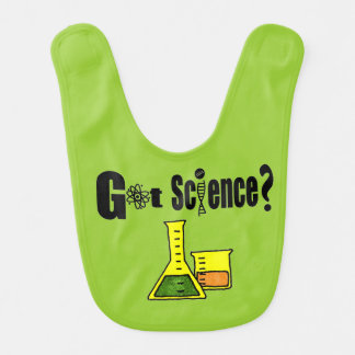 Future Scientist Baby Bib