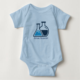 Future Scientist Beakers Design Baby Clothing Baby Bodysuit