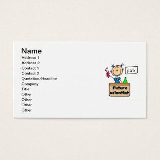 Future Scientist Business Card