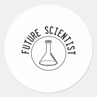 Future Scientist Classic Round Sticker