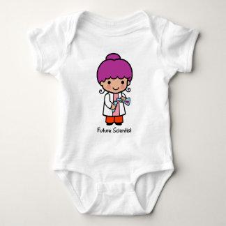 Future Scientist - Girl Baby Bodysuit