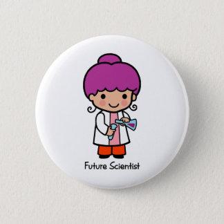 Future Scientist - Girl Pinback Button