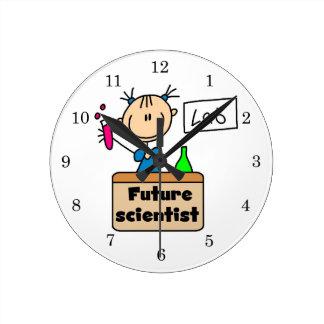 Future Scientist Round Clock