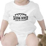 Future Scuba Diver Baby Bodysuit