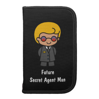Future Secret Agent Man Folio Planner