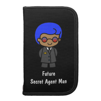 Future Secret Agent Man Planners