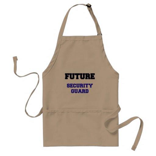 Future Security Guard Adult Apron
