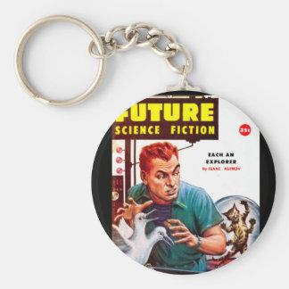 Future September 1956_Pulp Art Keychain