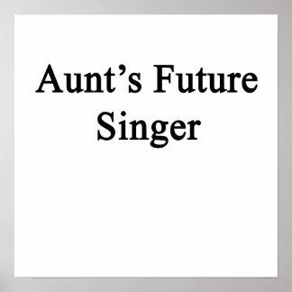 Future Singer de tía Póster
