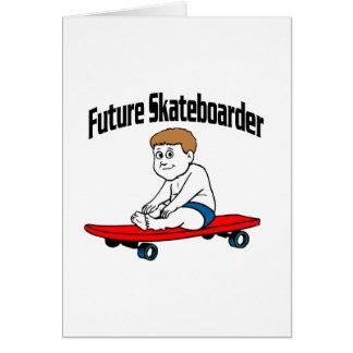 Future Skateboarder Greeting Card