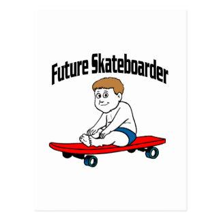 Future Skateboarder Postcard