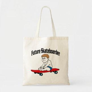 Future Skateboarder Tote Bag