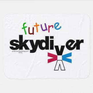Future Skydiver Swaddle Blanket