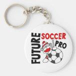 Future Soccer Pro Sock Monkey Keychain