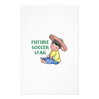 Future Soccer Star Custom Stationery