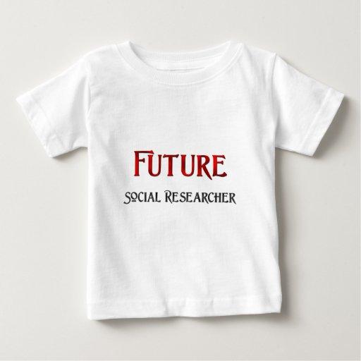 Future Social Researcher Tee Shirt