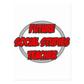 Future Social Studies Teacher Postcard
