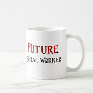 Future Social Worker Classic White Coffee Mug