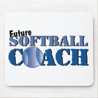 Future Softball Coach Mouse Pad