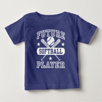 Future Softball Player Baby T-Shirt