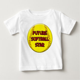 Future Softball Star Baby T-Shirt