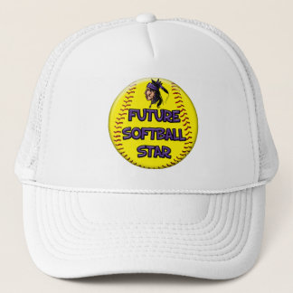 Future Softball Star Trucker Hat