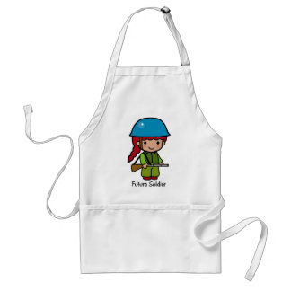 Future Soldier (girl) Adult Apron