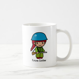Future Soldier girl Coffee Mugs