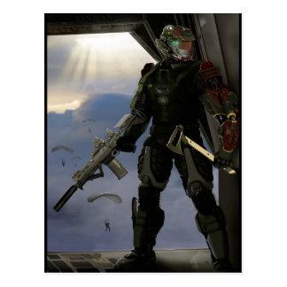 Future Soldier Postcard