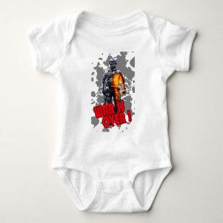 Future Soldier War is Over Baby Bodysuit