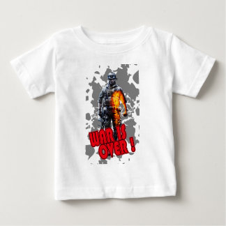 Future Soldier War is Over Baby T-Shirt