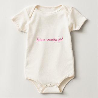 future sorority girl baby bodysuit