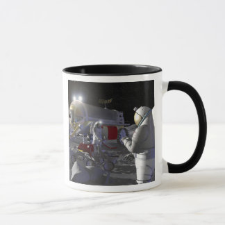 Future space exploration missions 11 mug