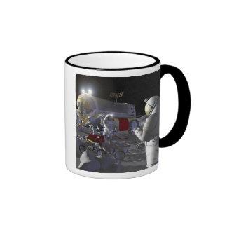 Future space exploration missions 11 ringer coffee mug