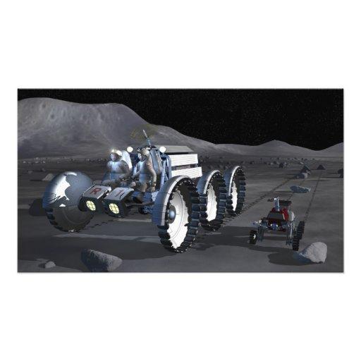 Future space exploration missions 11 photo print