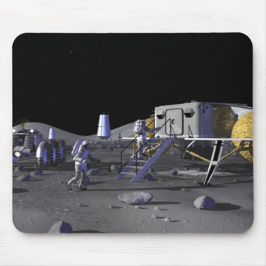 Future space exploration missions 13 mouse pad