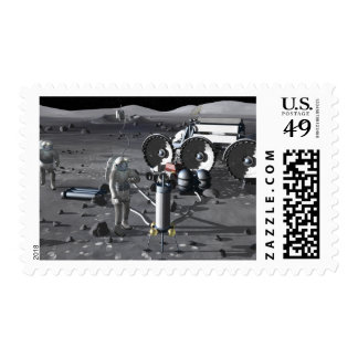 Future space exploration missions 2 postage