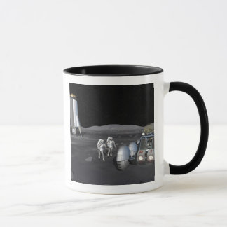 Future space exploration missions 3 mug
