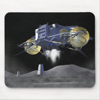 Future space exploration missions 4 mouse pad