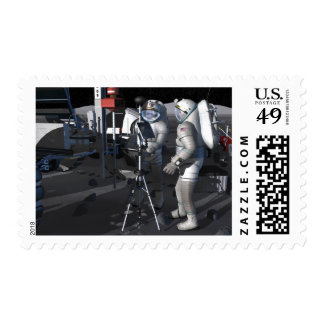 Future space exploration missions 5 postage stamp