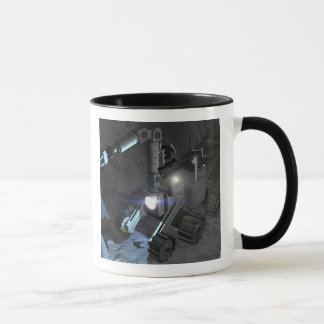 Future space exploration missions 6 mug