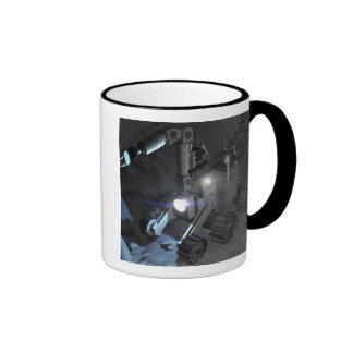 Future space exploration missions 6 ringer coffee mug