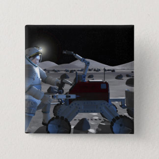 Future space exploration missions 7 button