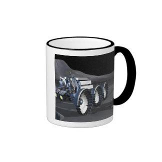 Future space exploration missions 8 ringer coffee mug
