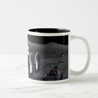 Future space exploration missions 8 Two-Tone coffee mug