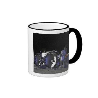 Future space exploration missions 9 ringer coffee mug