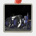Future space exploration missions 9 christmas ornament
