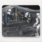 Future space exploration missions mouse pad
