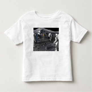 Future space exploration missions toddler t-shirt