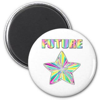 Future Star 2 Inch Round Magnet